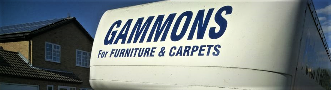 P H Gammons Van for Carpets, Furniture and Blinds in Huntingdon
